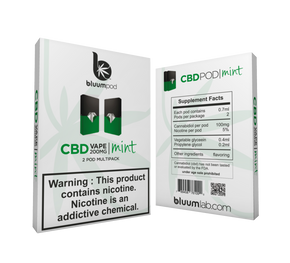 Bluumlab - CBD Cartridges with Salt Nicotine (2pc/pk) - Have A Nice Day CBD