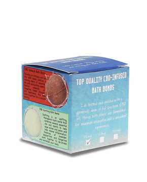 Sun State Hemp - Bath Bomb 2oz - 35MG - Bath -  - Sun State Hemp - Have A Nice Day CBD