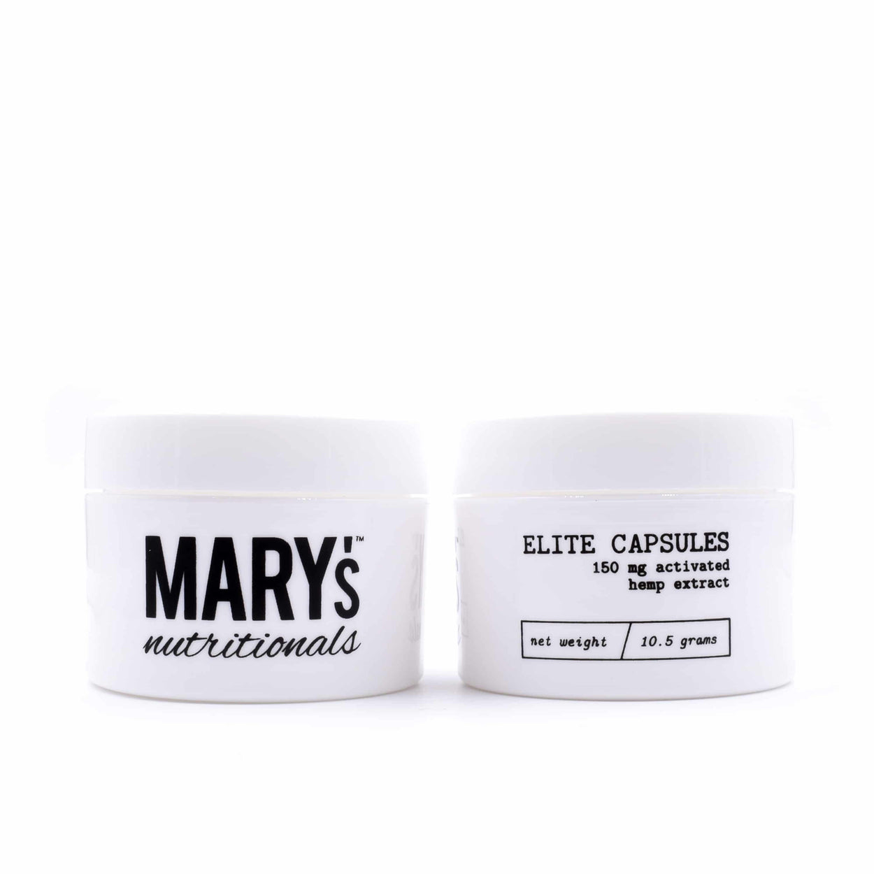 Mary's Nutritionals - Elite Capsules - Have A Nice Day CBD