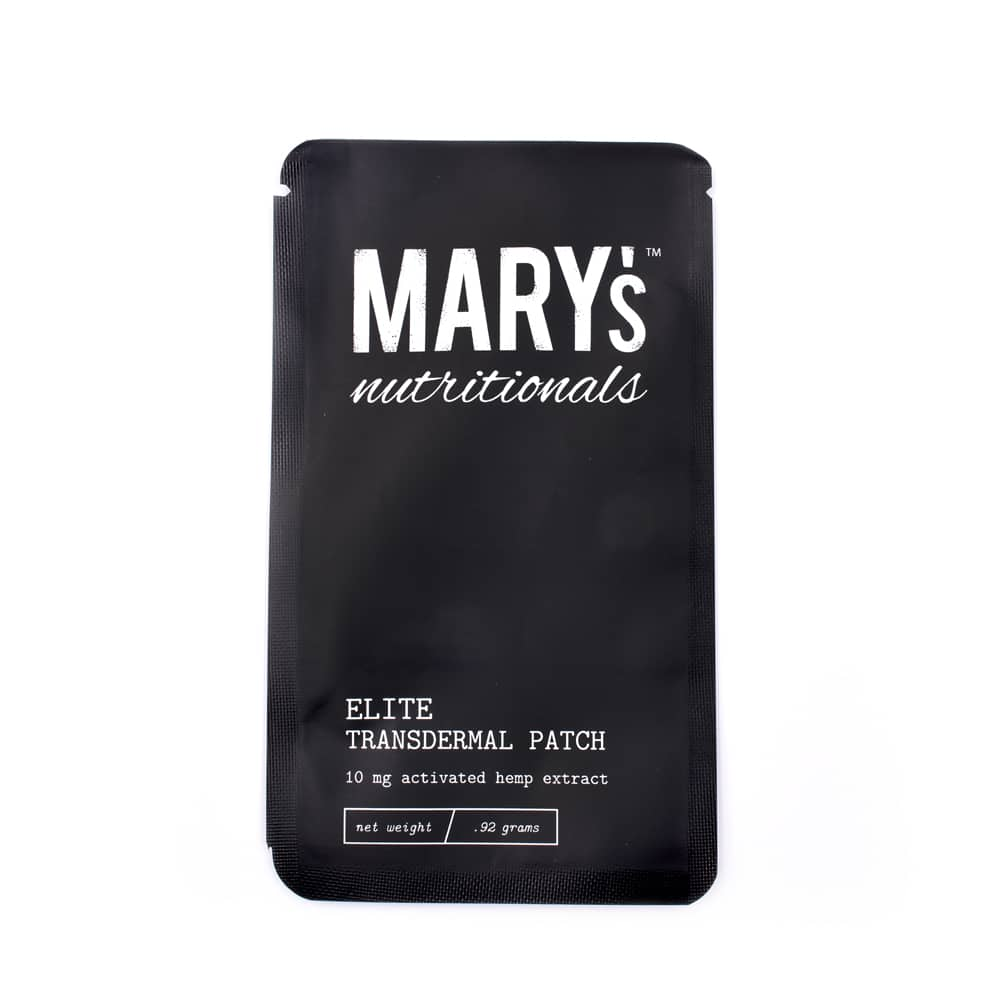 Mary's Nutritionals- Elite Patch - Have A Nice Day CBD