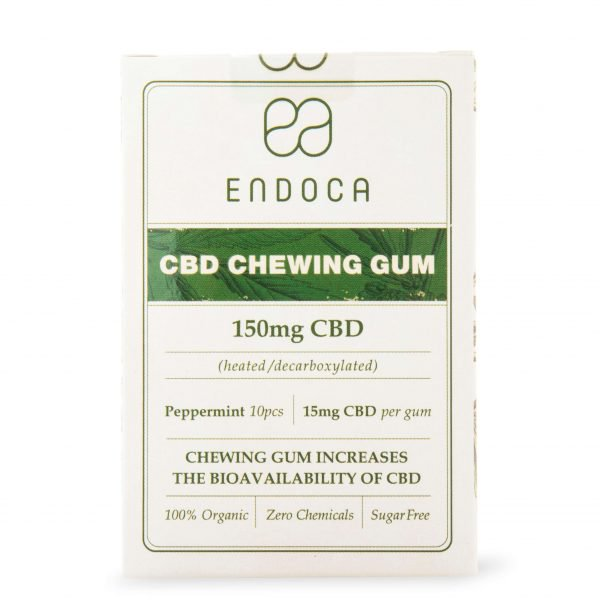 Endoca - CBD Chewing Gum 150mg - Have A Nice Day CBD