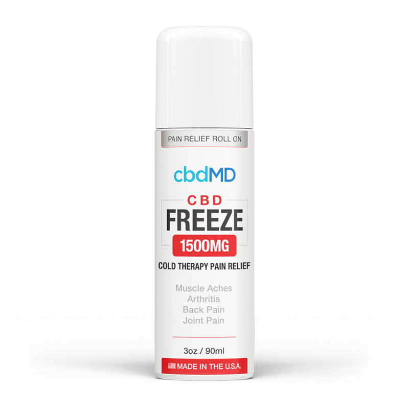 cbdMD - CBD Freeze 3oz Roller - Have A Nice Day CBD