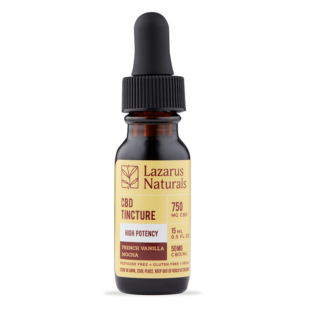 Lazarus Naturals - French Vanilla Mocha High Potency CBD Tincture