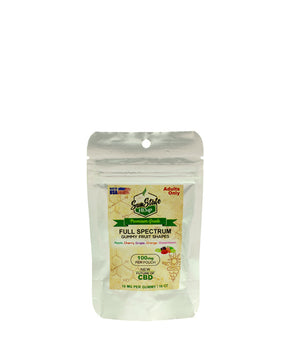 Sun State Hemp - Full Spectrum Fruit Shapes - 100MG Bag