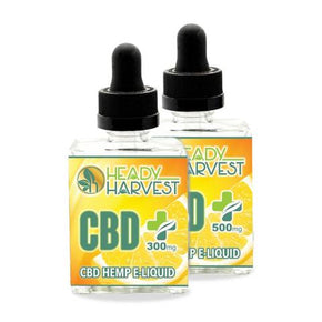 Heady Harvest - CBD E-Liquid - Lemon Calm - Have A Nice Day CBD