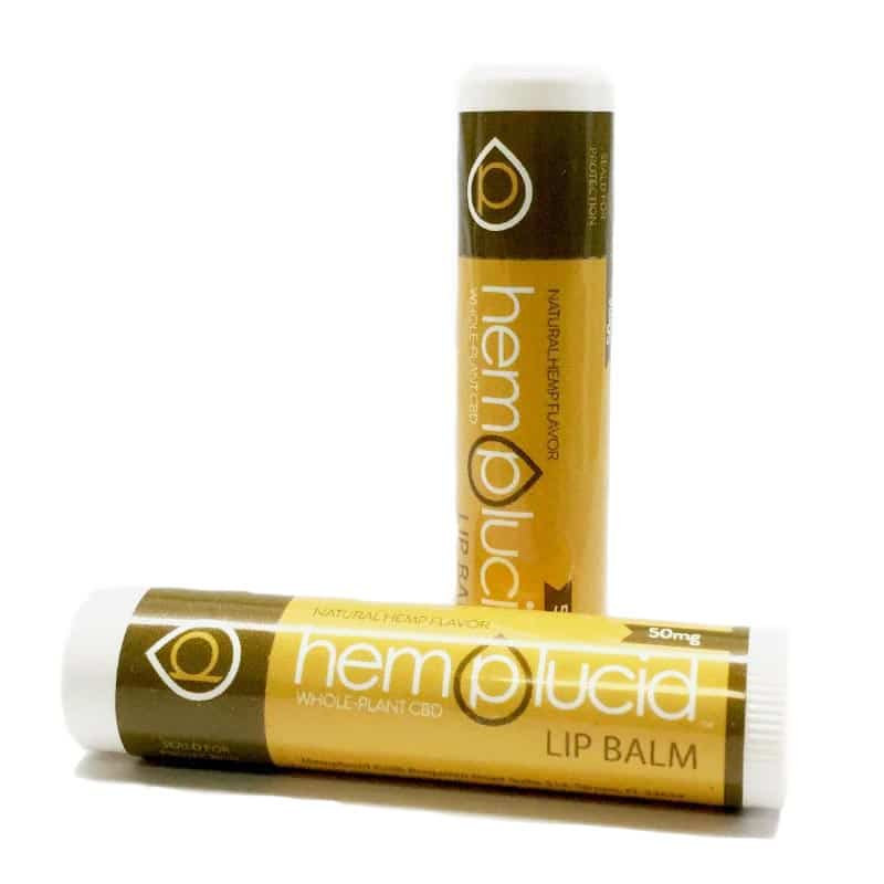 Hemplucid CBD Lip Balm - 50mg - Have A Nice Day CBD