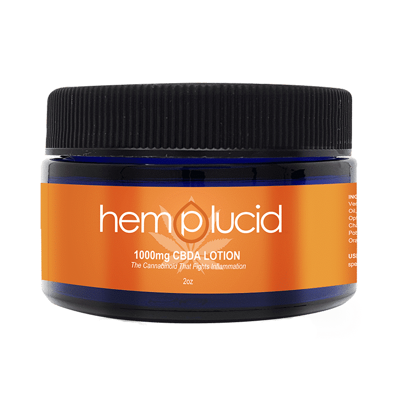 Hemplucid CBDA Lotion 1000mg - Have A Nice Day CBD