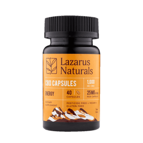 Lazarus Naturals - Energy Blend 25mg CBD Capsules - Have A Nice Day CBD