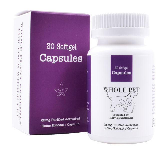 Mary's Nutritionals - Whole Pet Capsules - 30 Count - Have A Nice Day CBD