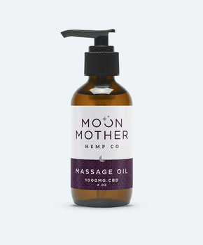 Moon Mother - CBD Massage Oil - Topical CBD - 1000mg - Moon Mother - Have A Nice Day CBD