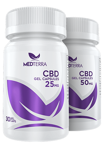 Medterra - CBD Gel Capsules ( 30 Count) - Have A Nice Day CBD