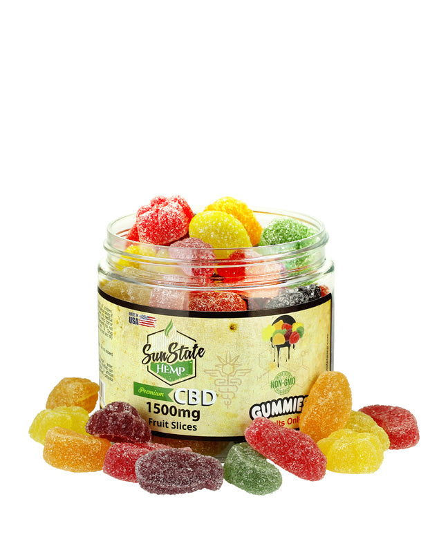 Sun State Hemp - CBD Gummy Fruit Slices