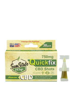 Sun State Hemp - Quick Fix Shots