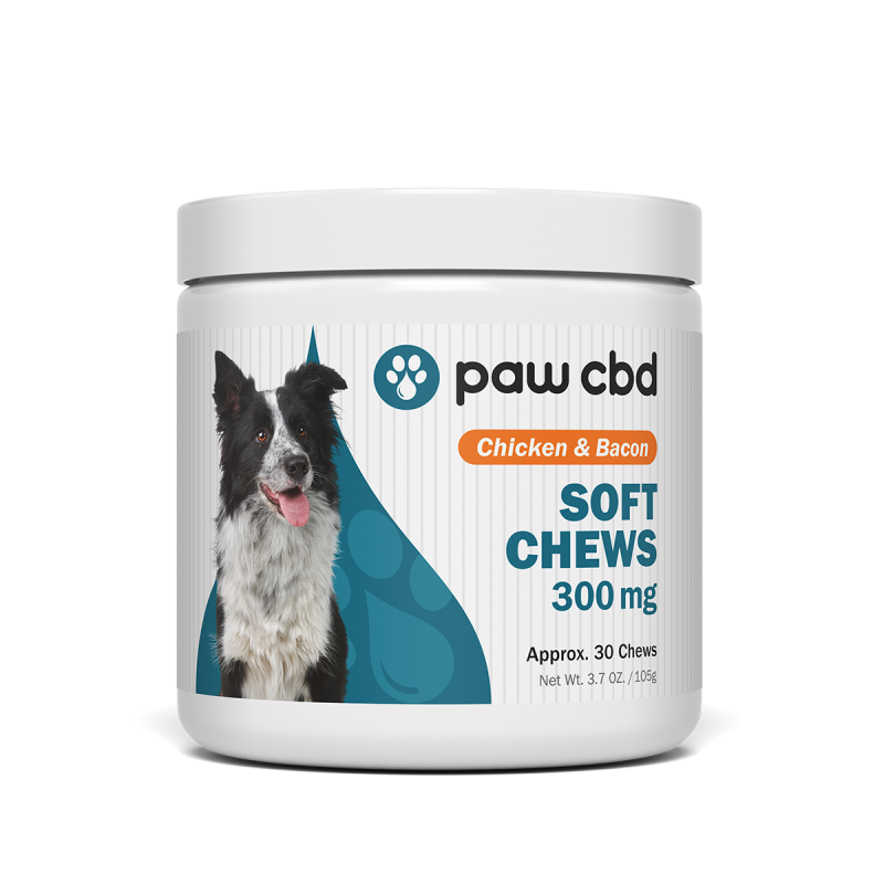 cbdMD Paw CBD - Chicken and bacon Dog Soft Chews - 30 Count - Have A Nice Day CBD