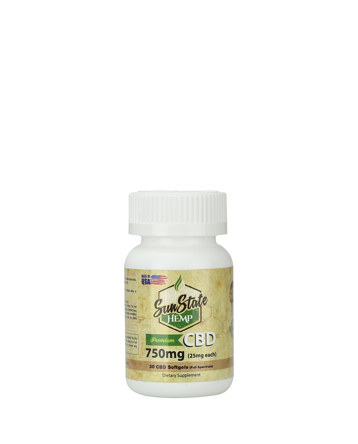 Sun State Hemp - Softgels 750 mg - 30pc