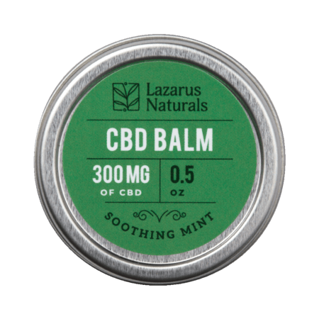 Lazarus Naturals - Soothing Mint CBD Balm