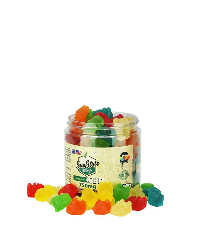 Sun State Hemp - Gummy Bears Traditional - Have A Nice Day CBD
