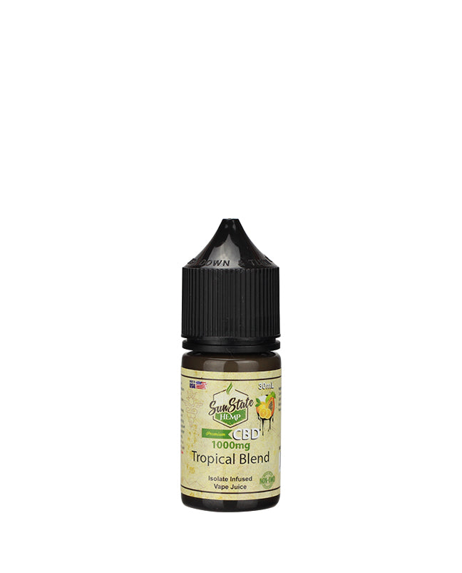 Sun State Hemp - Vape Juice Tropical Blend 30ml