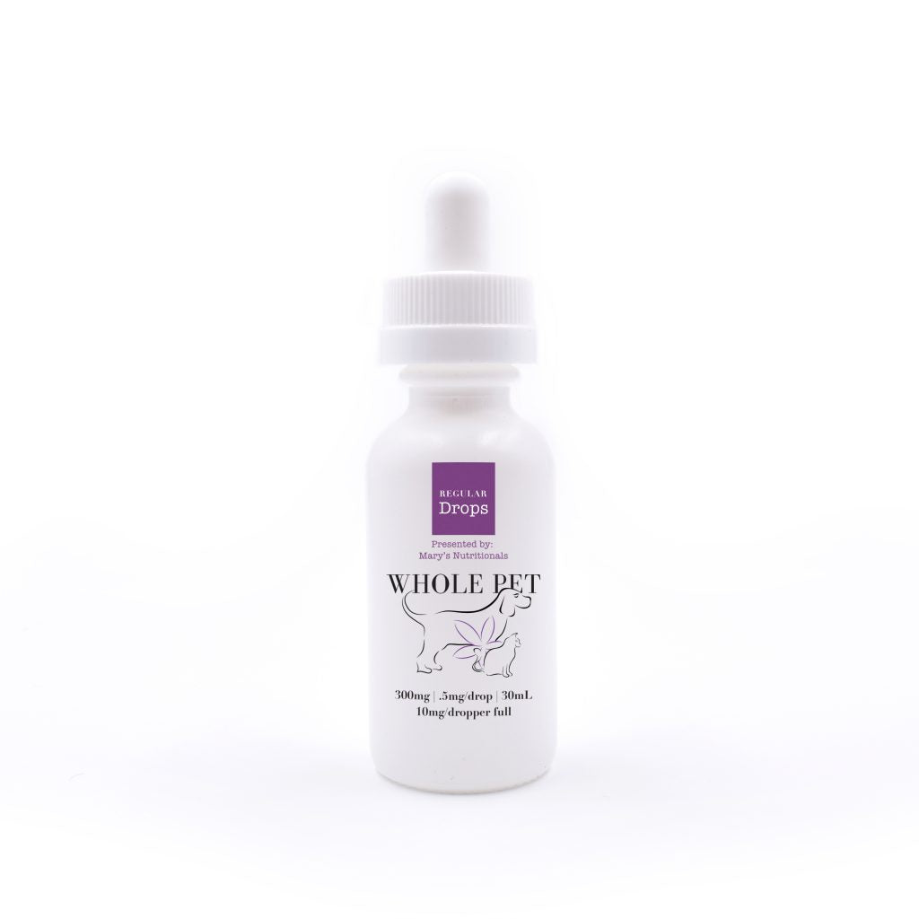 Mary's Nutritionals - Regular Whole Pet Drops - Have A Nice Day CBD