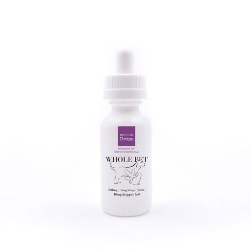 Mary's Nutritionals - Regular Whole Pet Drops Bottle
