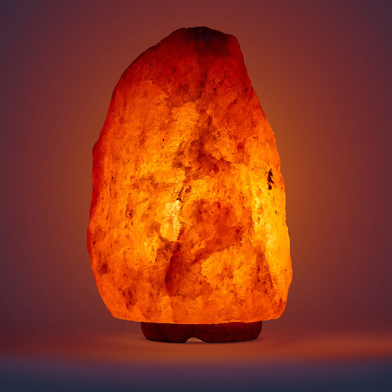 Salt Lamp Large Glowing
