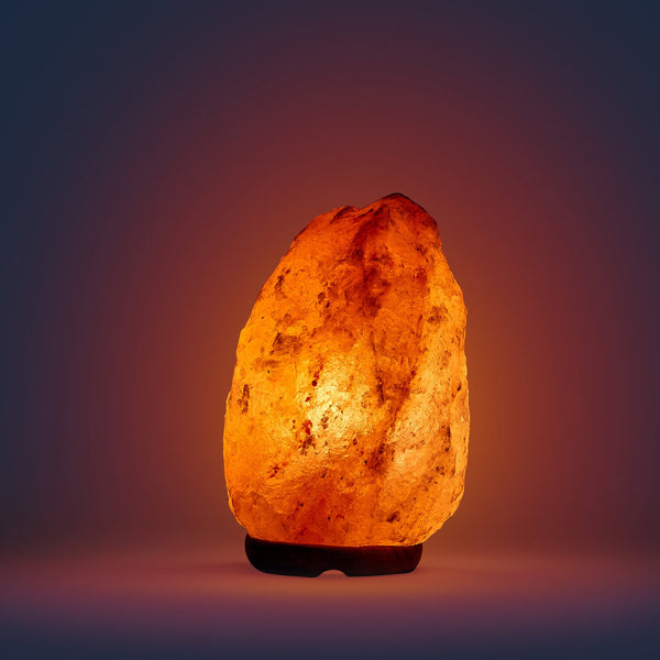 Himalayan Crystal Salt Lamp Natural Small (2-4kg)