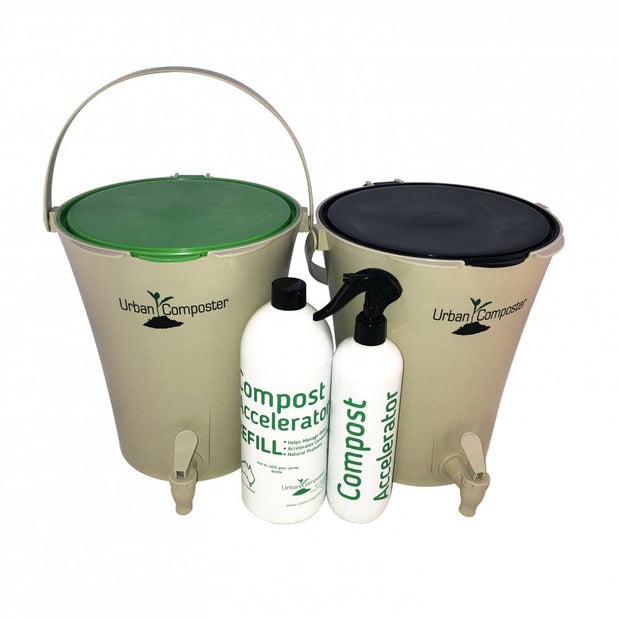 Urban Composter™ City Twin Starter Kit