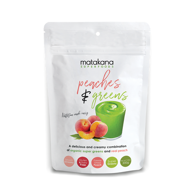 Matakana Superfoods Peaches & Greens