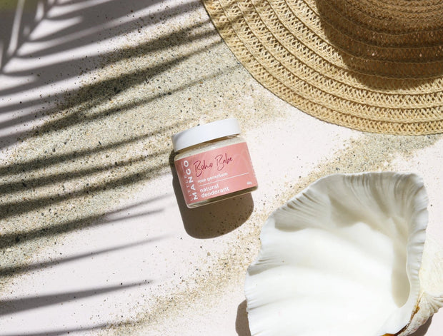 Little Mango Rose + Geranium Natural Deodorant BOHO BABE