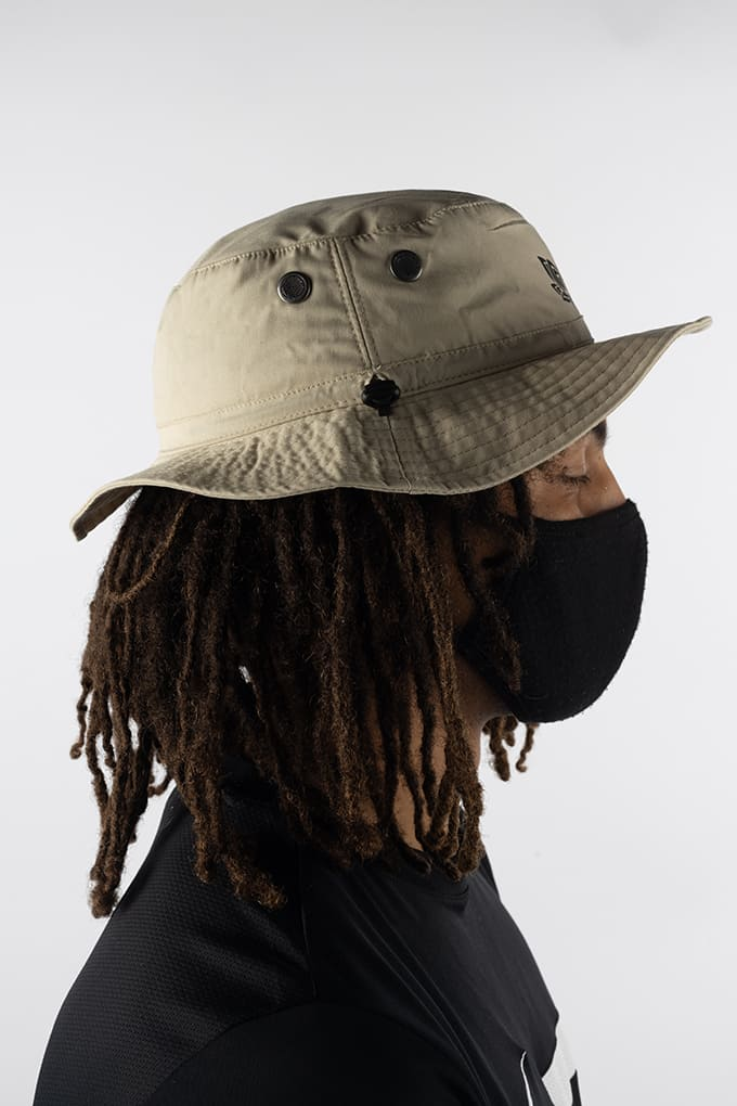 LOTUS BUCKET HAT - STONE