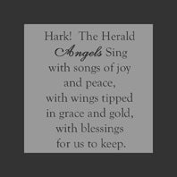 Hark! The Herald Angels Sing - Ornament