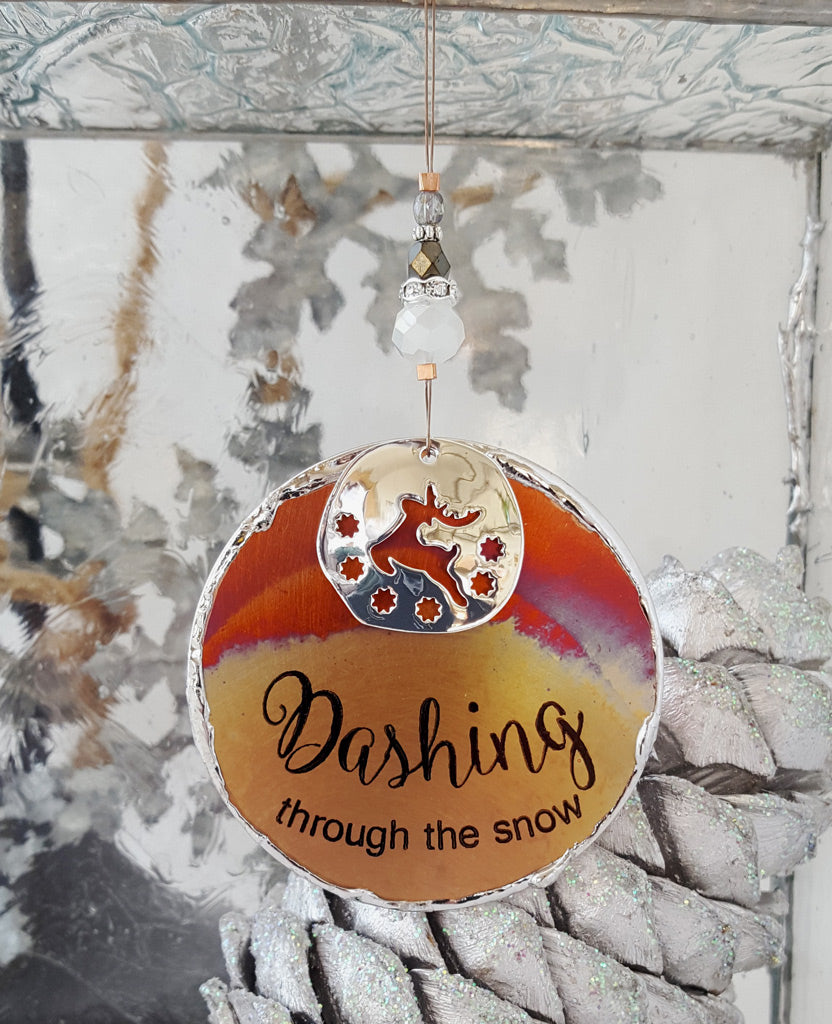Dashing Through the Snow - 2020 Signature Ornament