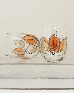 Autumn Leaf - Stemless