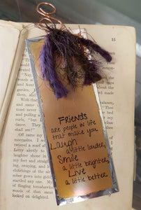 Friends are People in Life - Bookmark