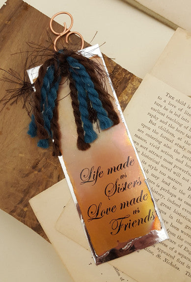 Life Made us Sisters - Bookmark