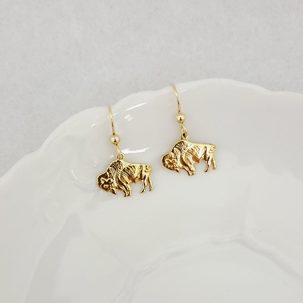 Prairie Bison Earrings