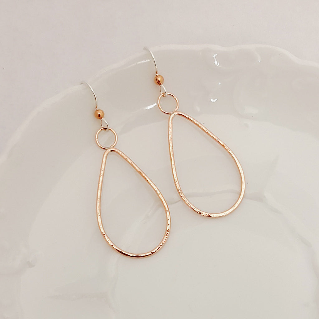 Classic Pear Drop in Copper - Earrings