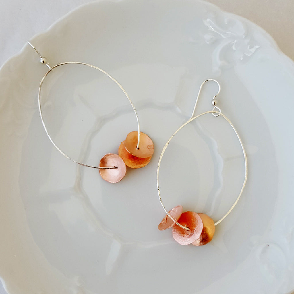 Collective in Oval - Large - Earrings