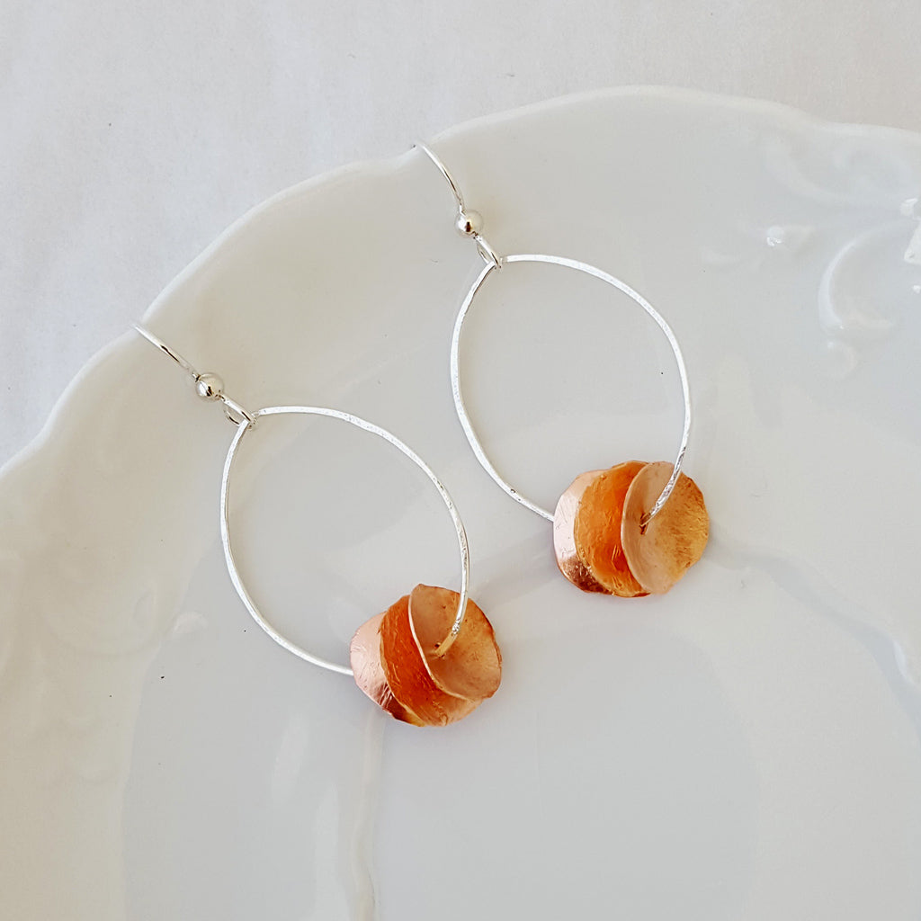 Collective in Oval - Small - Earrings