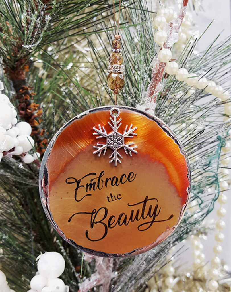 Our 2018 Signature Ornament - Embrace the Beauty