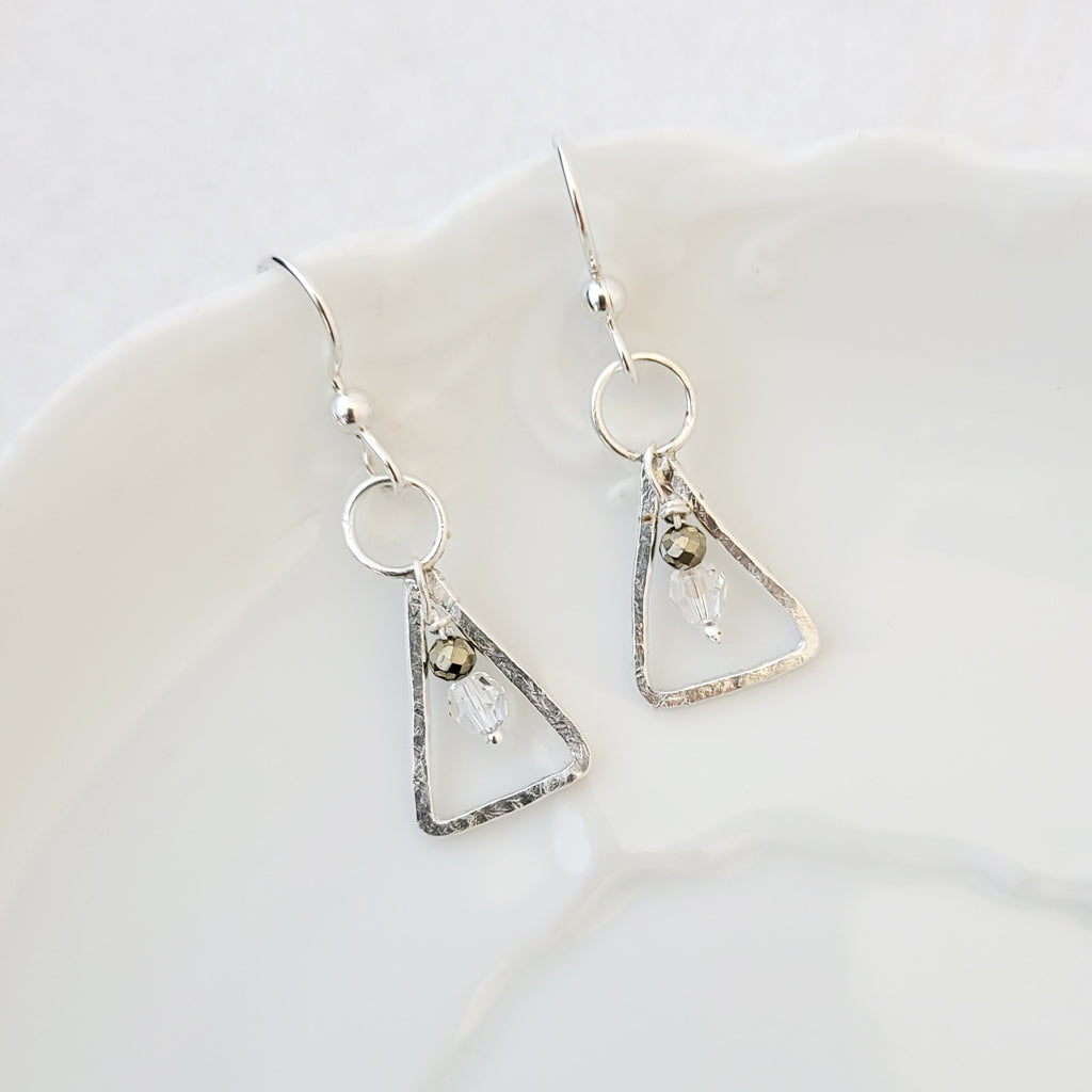 "Embraced ""Diamond' - Earrings"