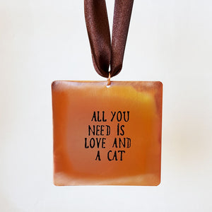 All You Need is Love and a Cat - Gift Notes