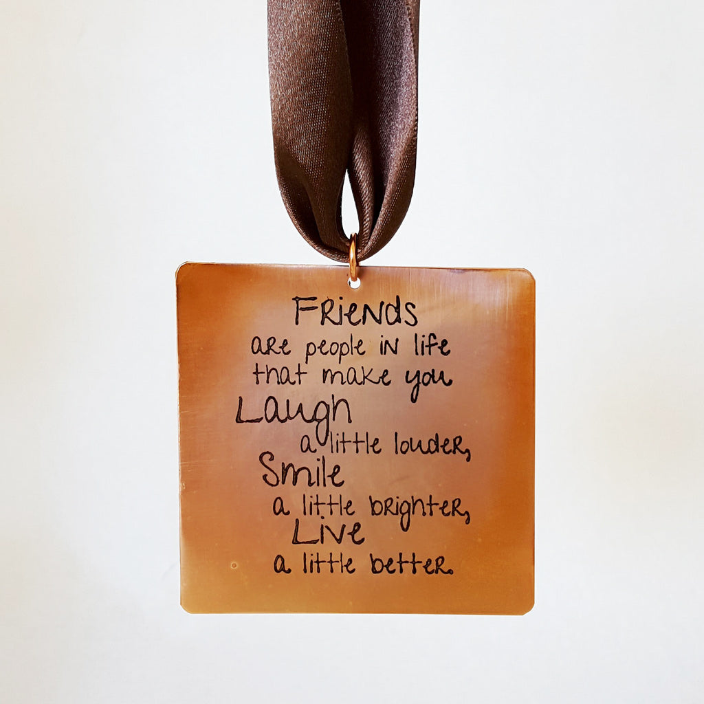 Friends are People in Life - Gift Notes