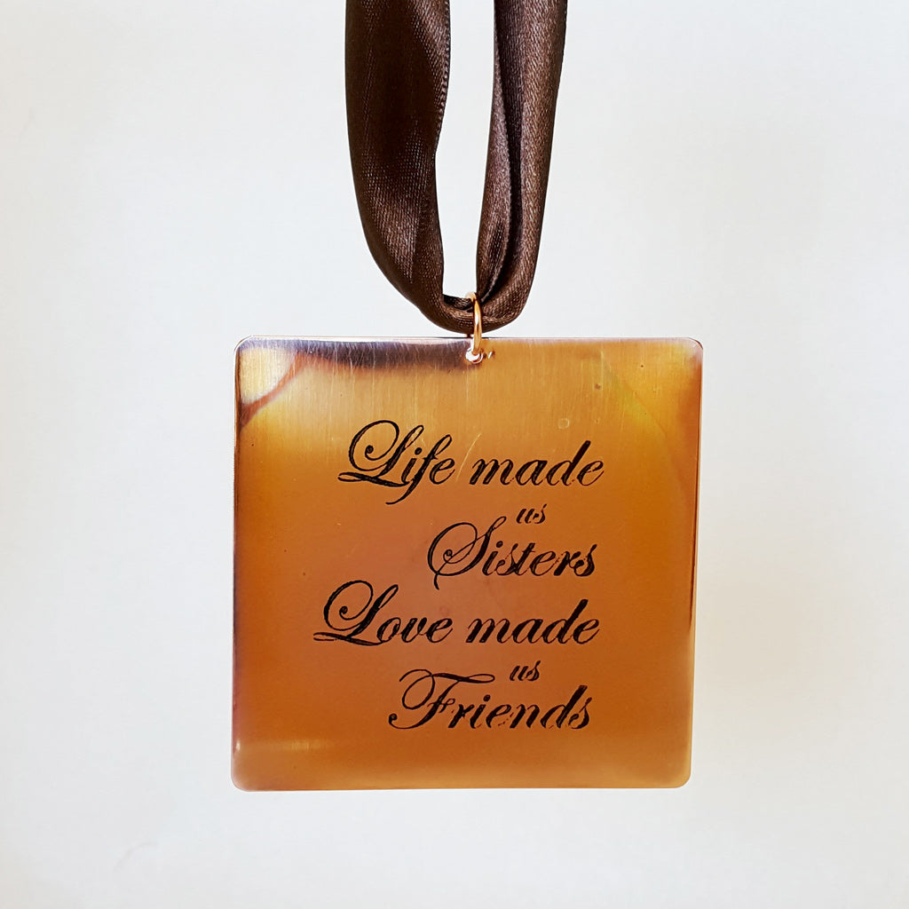 Life Made us Sisters - Gift Notes