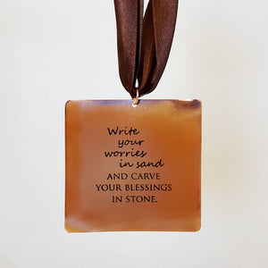 Write Your Worries in Sand - Gift Notes