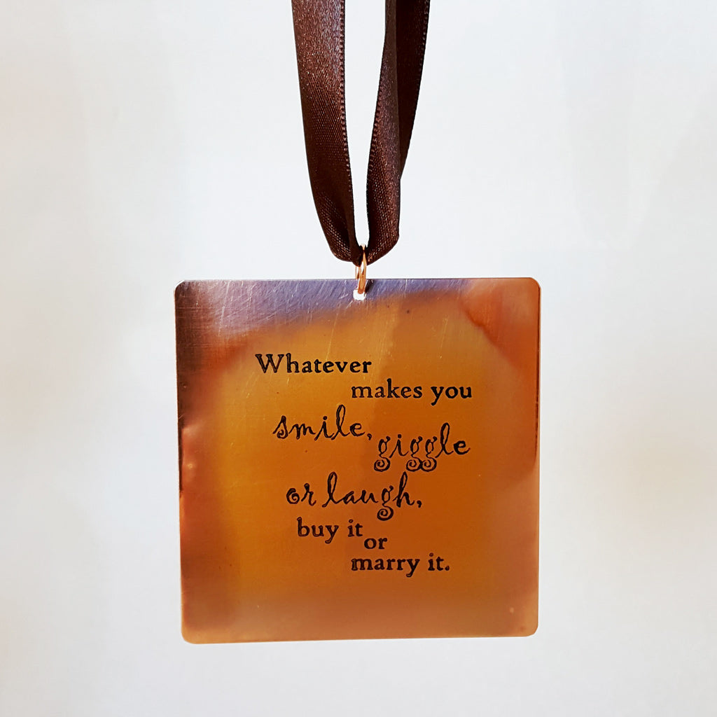 Whatever Makes You Smile - Gift Notes