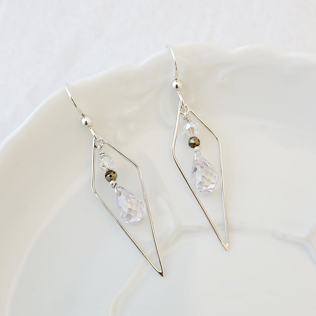 "Inspiring ""Diamond"" - Earrings"