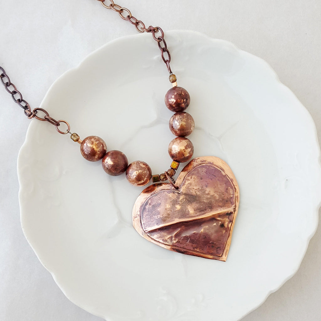 It's All About the Hearts II - Necklace