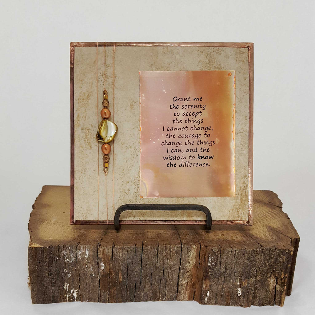 Serenity Prayer - Art Tile