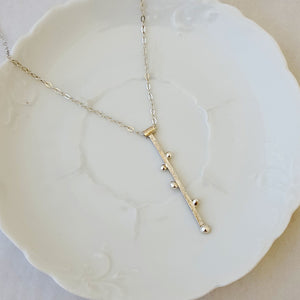 Ladders in Sterling - Necklace